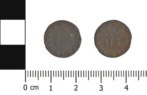 A resized image of Post-medieval trade token: Reading trade token