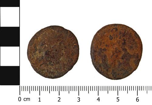 OXON-BB33D1: Roman coin: Dupondius of Nero