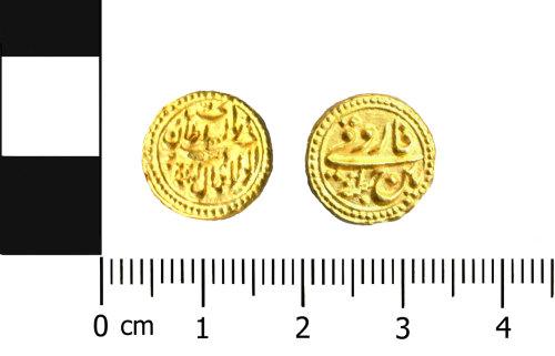OXON-4B6DE6: Post-medieval coin: Indian pagoda
