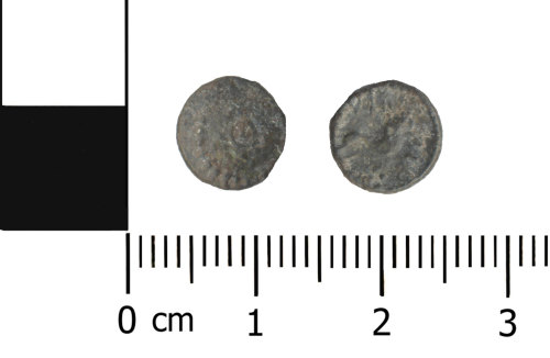 OXON-4D6B0B: Iron Age coin: Minim of Verica