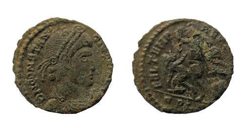 BERK-90A60F: Roman coin: Nummus of Constantius II