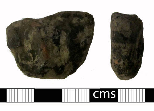 A resized image of Medieval vessel: Vessel foot
