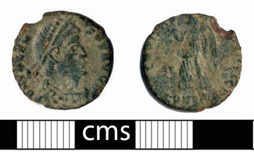 BERK-29CA36: Roman coin: Nummus of Valens