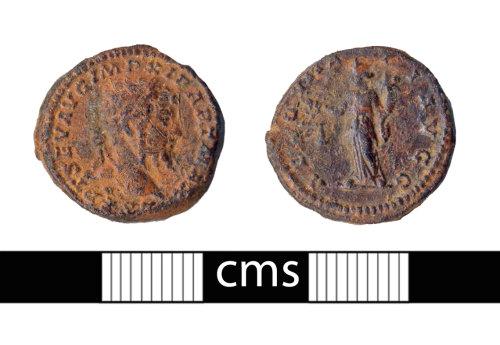 BERK-F8FF73: Roman coin: denarius of Septimius Severus