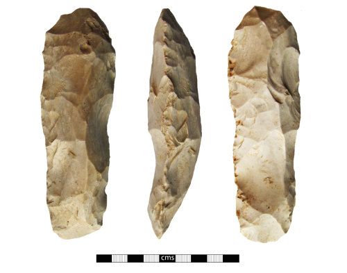 BERK-D1E2C2: Mesolithic tranchet axehead: Tranchet adze or pick
