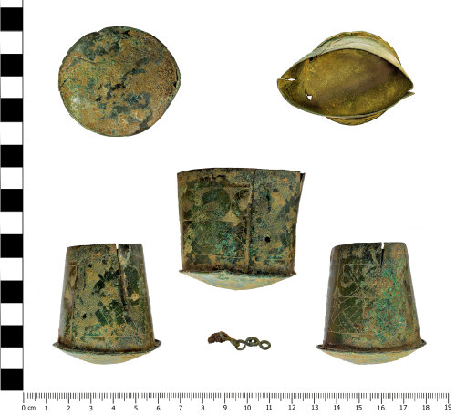 OXON-1A54A6: Early-medieval box: Decorated workbox