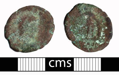 BERK-0239B2: Roman coin: Nummus from House of Constantine