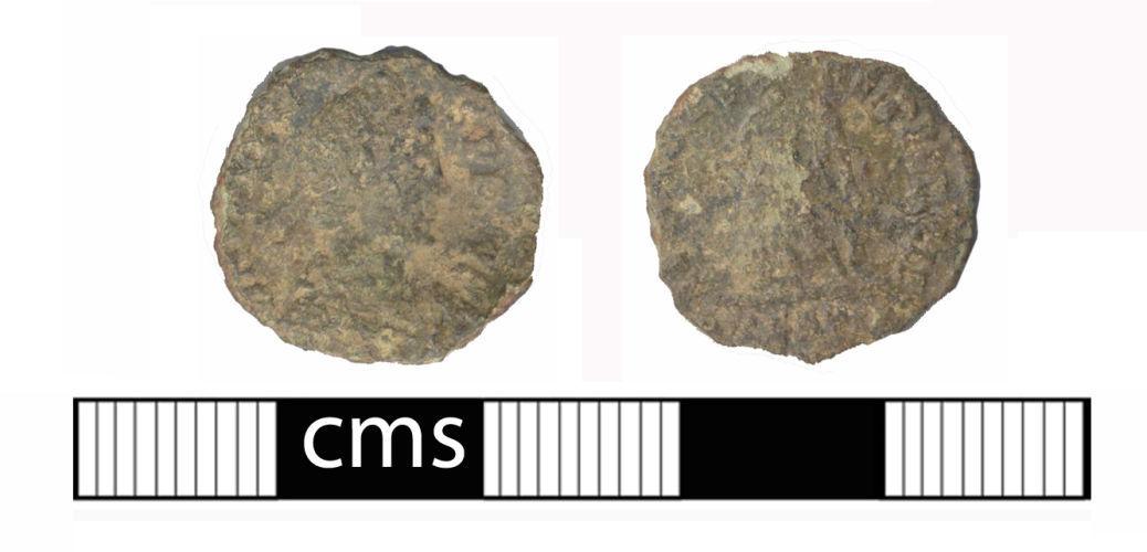 BERK-8EC615: Aynho: Roman coin of Valens