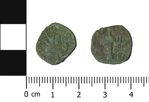 OXON-BB048D: Roman coin: Barbarous radiate