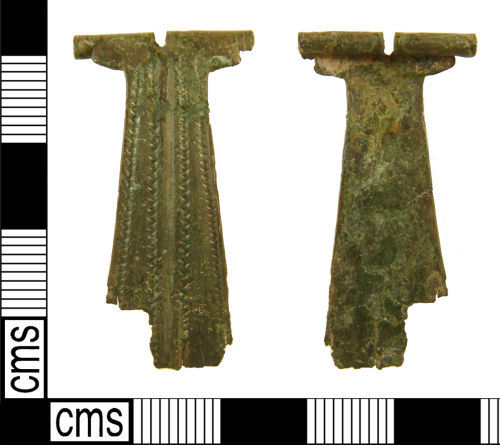 WILT-FEA814: Roman wing-and-fanbow brooch