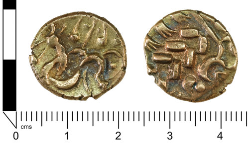 SWYOR-883578: Iron Age coin; South Ferriby Stater of the North-eastern region