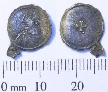 SWYOR-E98B97: Early Medieval coin; a penny of Eadgar