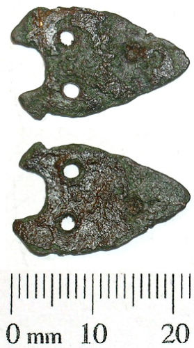 SWYOR-A86806: Probable medieval buckle plate fragment