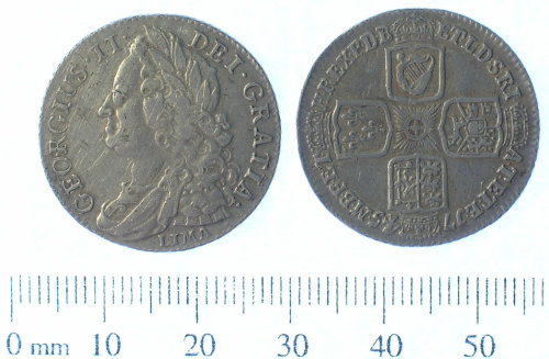 A resized image of Post Medieval coin