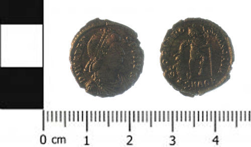 SWYOR-538B82: Coin; nummus of valens