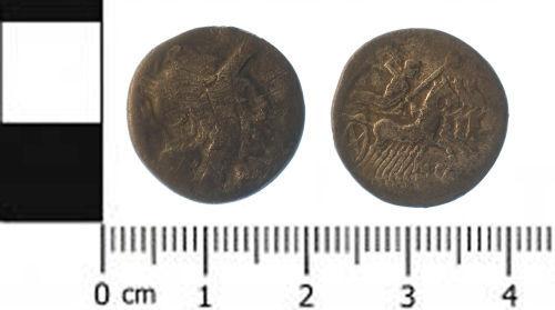 SWYOR-717483: Roman coin; republican denarius