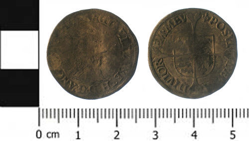 SWYOR-D0B488: Post medieval coin; groat of Elizabeth I