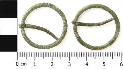 SWYOR-F9ECE2: Early Medieval Annular Brooch