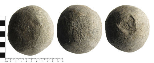 SWYOR-09F4A2: Post Medieval cannon ball
