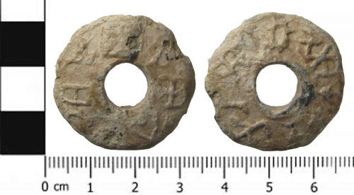 SWYOR-D84976: Spindle whorl