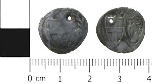 SWYOR-247806: Post Medieval coin; Commonwealth penny