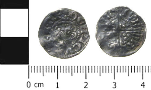 SWYOR-3D9076: Medieval coin; penny of Henry III