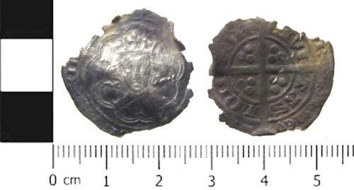 SWYOR-3D5983: Unidentified Medieval coin; groat