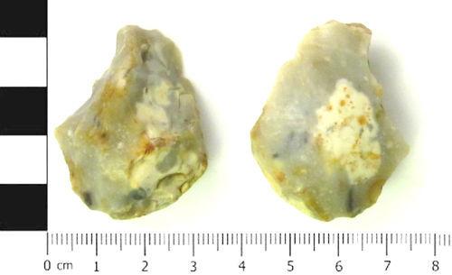 SWYOR-BC17F3: flint scraper