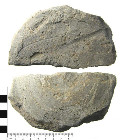 A resized image of Roman ceramic vessel base