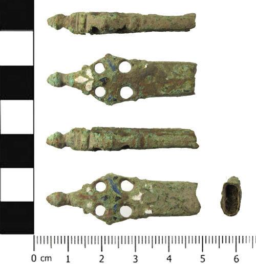 SWYOR-92474B: Post Medieval knife handle