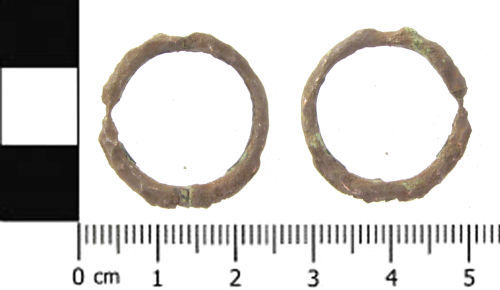 SWYOR-A91943: Medieval disc-on-pin brooch