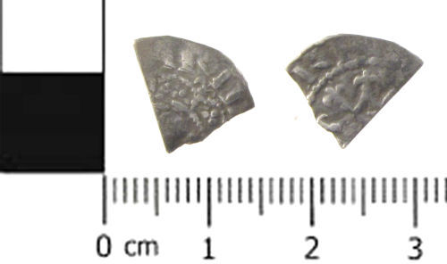 SWYOR-C24483: Medieval coin; penny of henry I