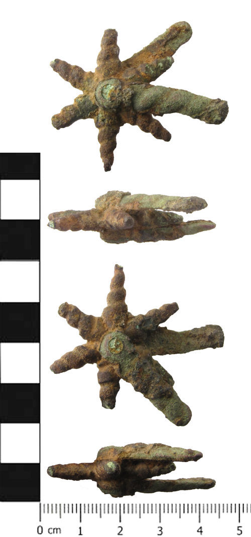 SWYOR-AA91E4: Post Medieval rowel spur