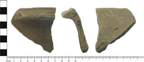A resized image of Roman ceramic vessel sherd