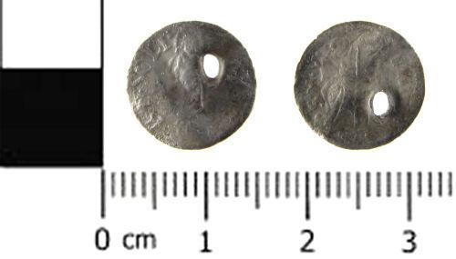 SWYOR-6B3085: Post Medieval coin; Venetian soldino of Lorendan