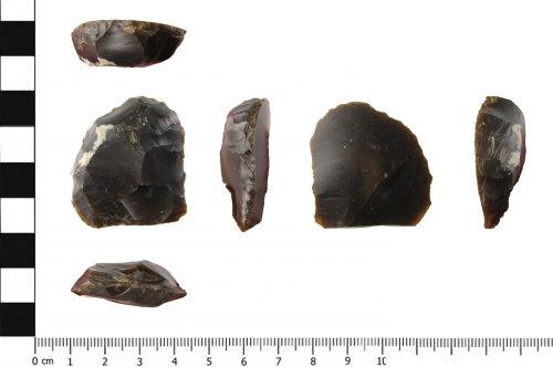 SWYOR-78F524: Neolithic flint scraper