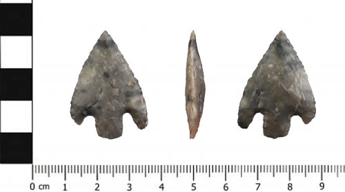 SWYOR-8F6674: Neolithic Barbed and tanged arrowhead