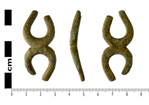 A resized image of Possible Iron Age tankard handle