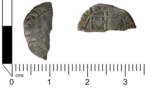 SWYOR-29896D: Post Medieval coin; unidentified Tudor penny