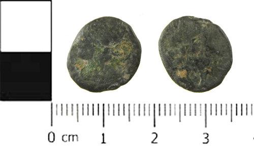 SWYOR-9DFEA2: Roman coin; illegible nummus