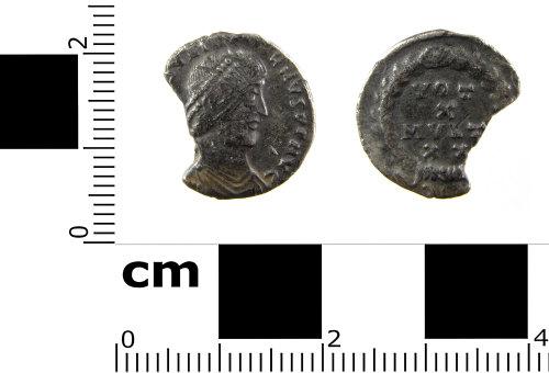 SWYOR-344C33: Roman coin; siliqua of Julian