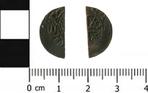 SWYOR-76AD93: Medieval coin; Scottish penny of William I