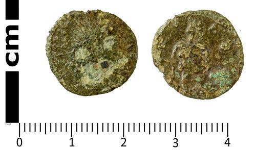 SWYOR-583BA3: Roman coin; radiate
