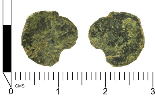 SWYOR-FAF601: Roman coin; barbarous radiate