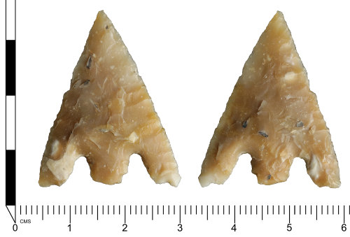 SWYOR-D0B745: Late Neolithic to Branze Age barbed and tanged arrowhead