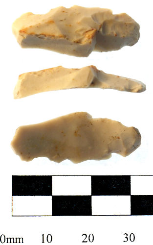 SWYOR-40A676: Mesolithic flint blade