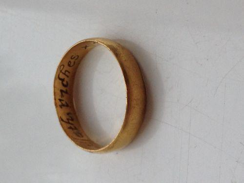 SWYOR-18E230: Post Medieval posy finger ring