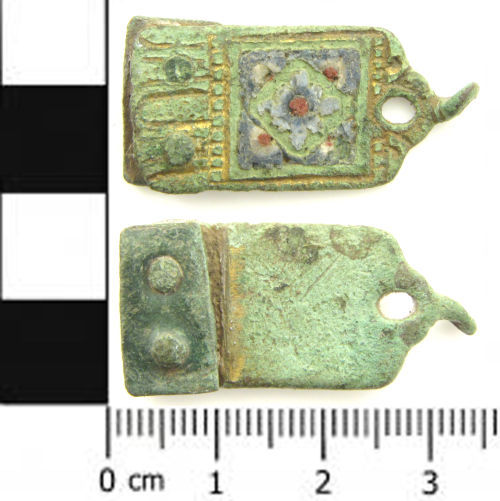 SWYOR-D9A074: Medieval Limoges book fitting