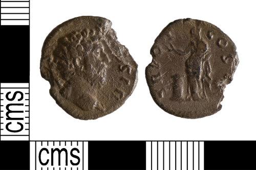 YORYM-1A506D: Roman Coin : Denarius of unknown Emperor
