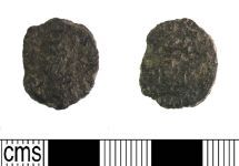 A resized image of Late Roman copper alloy nummus